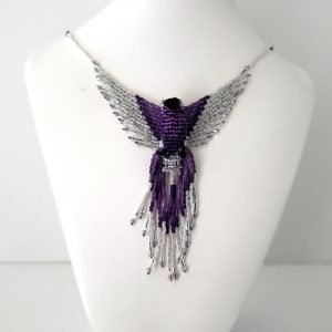 phoenix beaded necklace