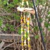 yellow gold garden chime