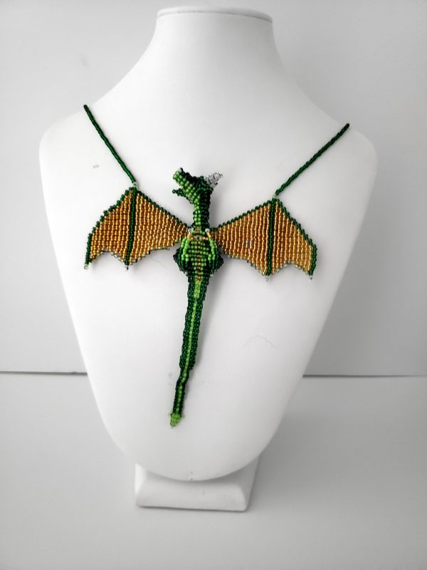 Beaded Dragon Necklace