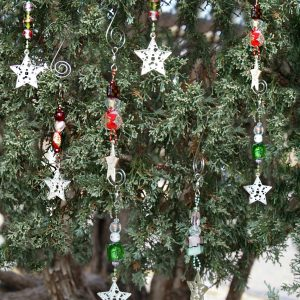 Christmas Candy Beaded Ornament