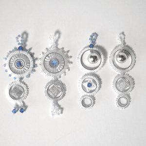 Crystal Ice Dream Catcher Ornaments