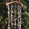 Silver and White Wind Chimes