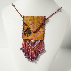 Beaded Spirit Bag Amulet Pouches