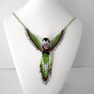 Beaded Thunderbird Pendant