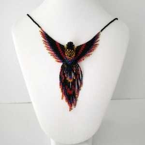 Beaded Phoenix Pendant