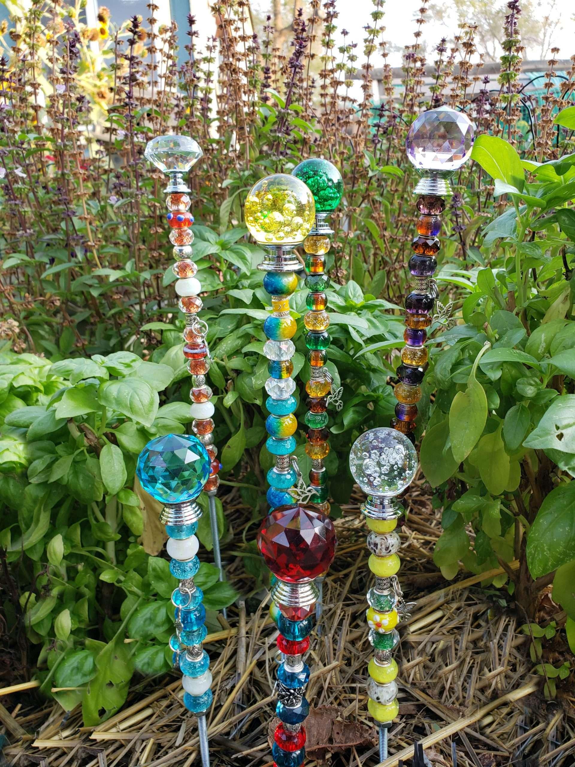 beaded garden bling