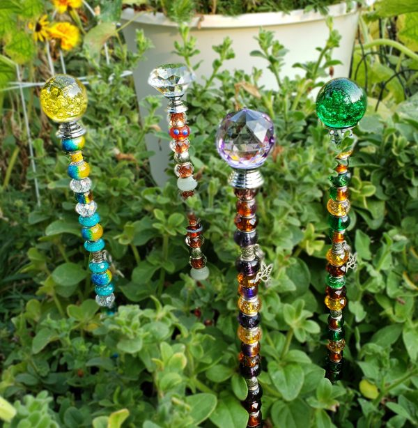 glass bead stakes