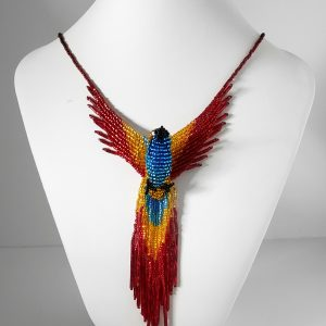 Beaded Phoenix Necklace Color Pop