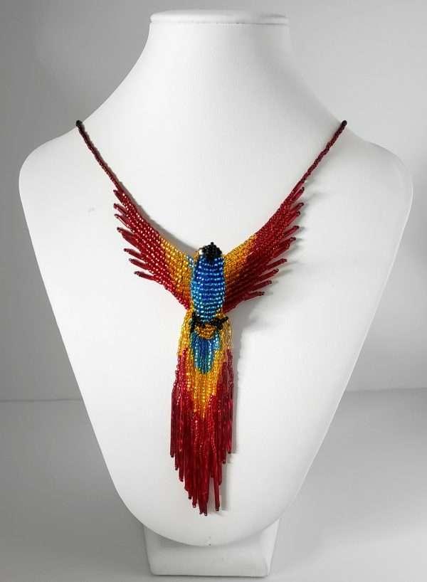 Beaded Phoenix Necklace Color Pop
